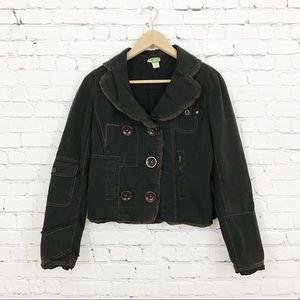 Anthro Ett Twa Sumptuary Patchwork Blazer Jacket